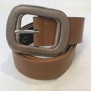 MOSCHINO CHEAPandCHIC Leather Belt Sz 42